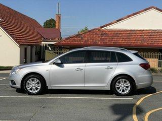 2013 Holden Cruze JH Series II MY14 CD Sportwagon Silver 6 Speed Sports Automatic Wagon.