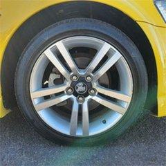 2011 Holden Commodore VE II SV6 Yellow 6 Speed Manual Sedan