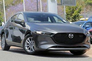 2021 Mazda 3 BP2H7A G20 SKYACTIV-Drive Pure Machine Grey 6 Speed Sports Automatic Hatchback.