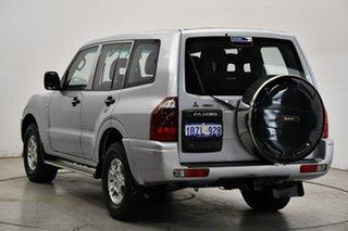 2004 Mitsubishi Pajero NP MY05 GLX Silver 5 Speed Sports Automatic Wagon.