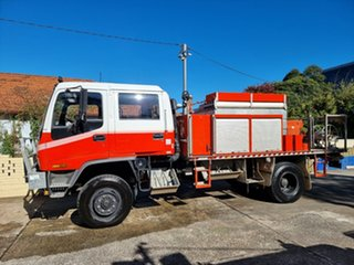 1997 Isuzu FTS 750 Dual Cab Red Firetruck 4x4.