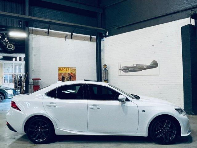 Used Lexus IS GSE31R IS350 F Sport Port Melbourne, 2014 Lexus IS GSE31R IS350 F Sport White 8 Speed Sports Automatic Sedan