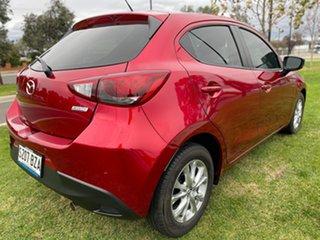 2018 Mazda 2 DJ2HAA Maxx SKYACTIV-Drive Red 6 Speed Sports Automatic Hatchback