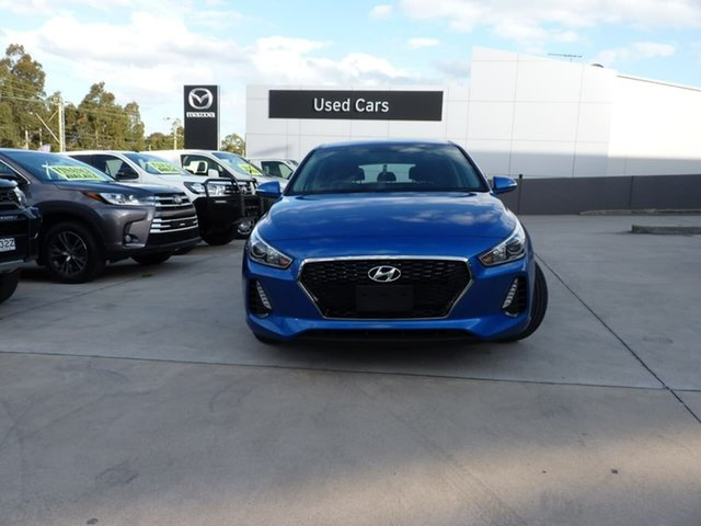 Pre-Owned Hyundai i30 PD2 MY18 Active Blacktown, 2018 Hyundai i30 PD2 MY18 Active Marina Blue 6 Speed Sports Automatic Hatchback