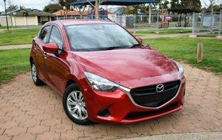 2017 Mazda 2 DJ2HAA Neo SKYACTIV-Drive Red 6 Speed Sports Automatic Hatchback.