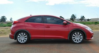2012 Honda Civic FK VTi-S Red 5 Speed Automatic Hatchback.