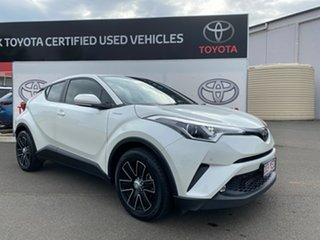 2018 Toyota C-HR NGX50R Update (AWD) Crystal Pearl Continuous Variable Wagon.