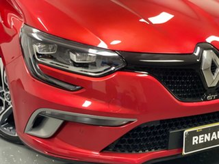 2016 Renault Megane BFB GT EDC Red 7 Speed Sports Automatic Dual Clutch Hatchback.
