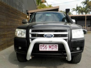 2007 Ford Ranger PJ XLT Crew Cab Black 5 Speed Automatic Utility