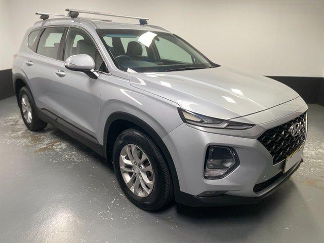 Used Hyundai Santa Fe TM MY19 Active Hamilton, 2018 Hyundai Santa Fe TM MY19 Active Silver 8 Speed Sports Automatic Wagon