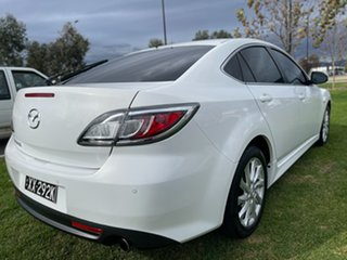 2012 Mazda 6 GH1052 MY12 Touring Crystal White 5 Speed Sports Automatic Hatchback