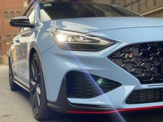 2021 Hyundai i30 Pde.v4 MY22 N D-CT Premium Performance Blue 8 Speed Manual Hatchback