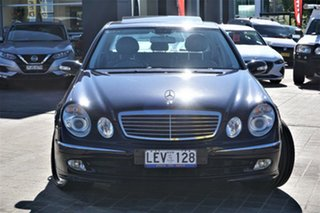 2003 Mercedes-Benz E-Class W211 E500 Avantgarde Blue 5 Speed Sports Automatic Sedan.