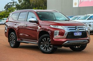 2020 Mitsubishi Pajero Sport QF MY20 Exceed Red 8 Speed Sports Automatic Wagon.
