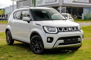 2021 Suzuki Ignis MF Series II GLX Pure White Pearl 1 Speed Constant Variable Hatchback.