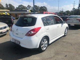 2010 Nissan Tiida TI White Automatic Sedan