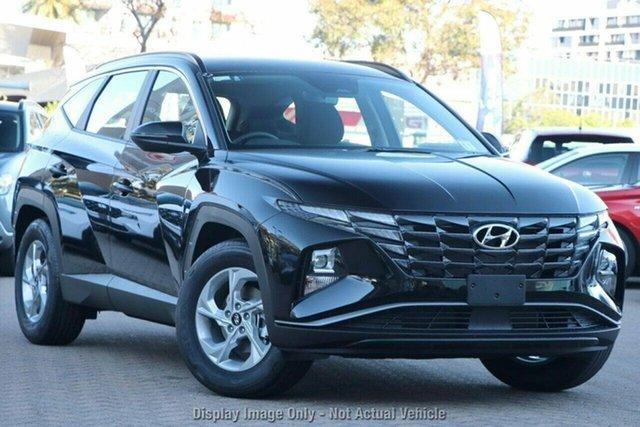 New Hyundai Tucson NX4.V1 MY22 2WD Castle Hill, 2021 Hyundai Tucson NX4.V1 MY22 2WD Phantom Black 6 Speed Automatic Wagon