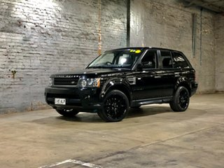 2011 Land Rover Range Rover Sport L320 11MY TDV6 Black 6 Speed Sports Automatic Wagon.