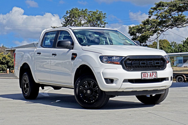 Used Ford Ranger PX MkIII 2020.75MY XL Capalaba, 2020 Ford Ranger PX MkIII 2020.75MY XL White 6 Speed Sports Automatic Double Cab Pick Up