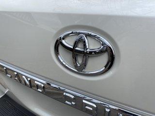 2020 Toyota Landcruiser VDJ200R Sahara Crystal Pearl 6 Speed Sports Automatic Wagon