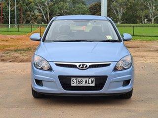 2011 Hyundai i30 FD MY11 SX Sky Blue 4 Speed Automatic Hatchback.