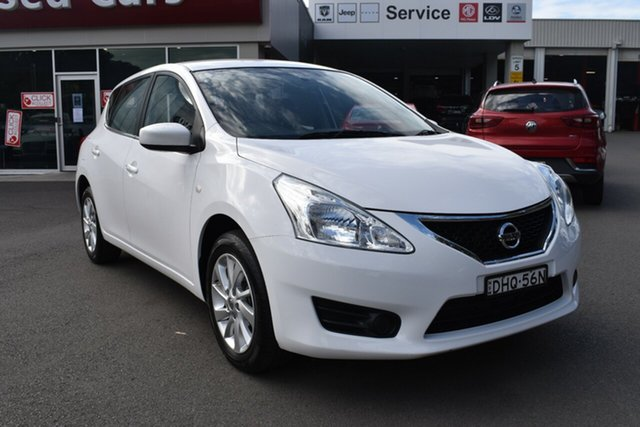 Used Nissan Pulsar C12 Series 2 ST Gosford, 2016 Nissan Pulsar C12 Series 2 ST White 1 Speed Constant Variable Hatchback