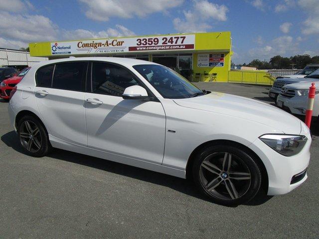 Used BMW 116i F20 116i Kedron, 2013 BMW 116i F20 116i White 8 Speed Sports Automatic Hatchback