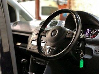2012 Volkswagen Caddy 2KN MY12 TDI250 SWB Black 5 Speed Manual Van