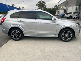 2017 Holden Captiva CG MY18 LTZ AWD Silver 6 Speed Sports Automatic Wagon.