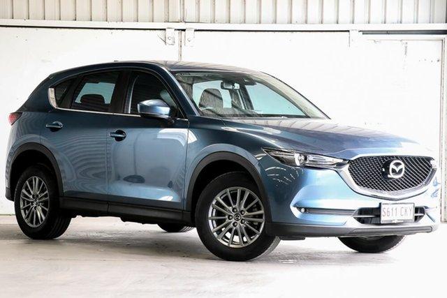 Used Mazda CX-5 KF2W7A Maxx SKYACTIV-Drive FWD Sport Laverton North, 2017 Mazda CX-5 KF2W7A Maxx SKYACTIV-Drive FWD Sport Blue 6 Speed Sports Automatic Wagon