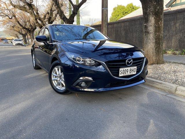 Pre-Owned Mazda 3 BM5478 Maxx SKYACTIV-Drive Hawthorn, 2015 Mazda 3 BM5478 Maxx SKYACTIV-Drive Blue 6 Speed Sports Automatic Hatchback