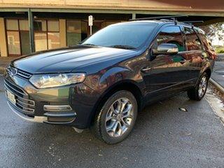 2012 Ford Territory SZ Titanium Seq Sport Shift Navy Blue 6 Speed Sports Automatic Wagon