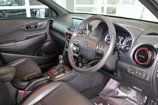 2017 Hyundai Kona OS MY18 Elite D-CT AWD Black 7 Speed Sports Automatic Dual Clutch Wagon