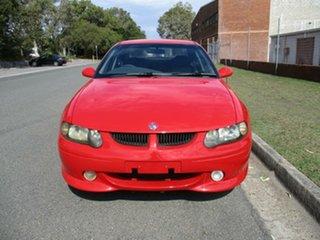 2001 Holden Commodore VX SS Red 6 Speed Manual Sedan.