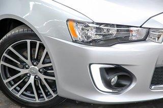 2016 Mitsubishi Lancer CF MY16 GSR Silver 6 Speed Constant Variable Sedan.