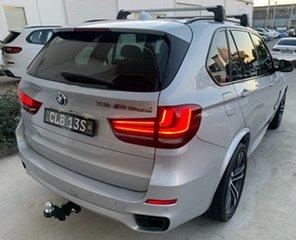 2016 BMW X5 F15 M50D Silver 8 Speed Sports Automatic Wagon