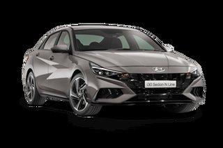 2021 Hyundai i30 CN7.V1 MY21 N Line D-CT Fluid Metal 7 Speed Sports Automatic Dual Clutch Sedan