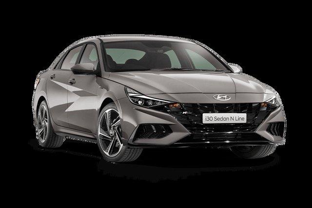 New Hyundai i30 CN7.V1 MY21 N Line D-CT Cardiff, 2021 Hyundai i30 CN7.V1 MY21 N Line D-CT Fluid Metal 7 Speed Sports Automatic Dual Clutch Sedan