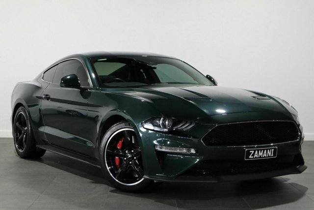 Used Ford Mustang FN 2019MY BULLITT Bayswater, 2019 Ford Mustang FN 2019MY BULLITT Green 6 Speed Manual Fastback
