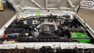 1991 Toyota Landcruiser HDJ80R GXL White 4 Speed Automatic Wagon