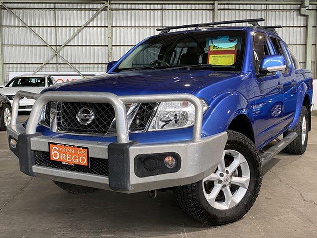 Used Nissan Navara D40 S6 MY12 ST Rocklea, 2012 Nissan Navara D40 S6 MY12 ST Blue 5 Speed Sports Automatic Utility