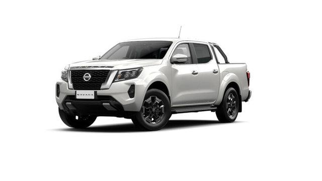 Demo Nissan Navara D23 ST-X Cardiff, 2021 Nissan Navara D23 Dual Cab ST-X Pick Up 4x4 White Pearl 6 Speed Manual Utility
