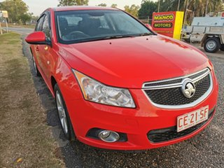 2014 Holden Cruze JH Series II MY14 Equipe Red 5 Speed Manual Hatchback.
