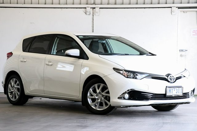 Used Toyota Corolla ZRE182R Ascent Sport S-CVT Laverton North, 2018 Toyota Corolla ZRE182R Ascent Sport S-CVT White 7 Speed Constant Variable Hatchback