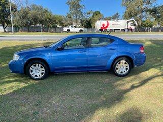 2009 Dodge Avenger JS MY09 SX Blue 4 Speed Automatic Sedan