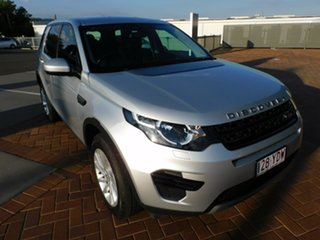 2017 Land Rover Discovery Sport L550 18MY TD4 110kW SE Silver 9 Speed Sports Automatic Wagon.