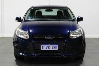 2011 Ford Focus LW Ambiente PwrShift Blue 6 Speed Sports Automatic Dual Clutch Sedan.