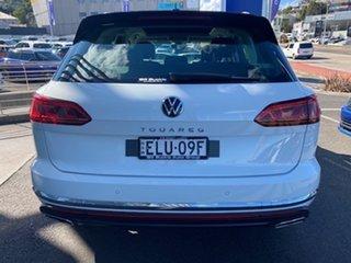 2021 Volkswagen Touareg CR MY21 210TDI Tiptronic 4MOTION Elegance Pure White 8 Speed.