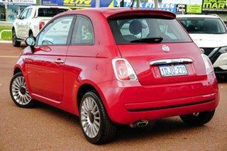 2010 Fiat 500 Series 1 Sport Red 6 Speed Manual Hatchback.