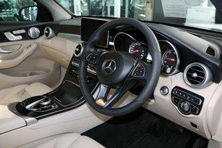 2018 Mercedes-Benz GLC-Class X253 809MY GLC250 d 9G-Tronic 4MATIC Blue 9 Speed Sports Automatic.